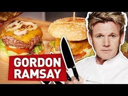 livre de cuisine gordon ramsay je teste une recette de gordon ramsay le burger parfait