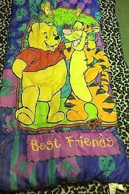 disney winnie pooh bear children u0027s sleeping bag u2022 24 95
