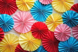 paper fan diy make a paper fan photo backdrop