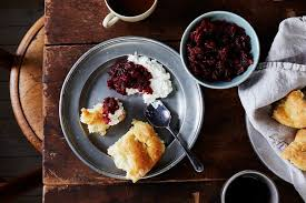 pear and walnut cranberry sauce recipe on food52