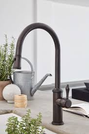 kitchen faucets bronze finish california faucets is simplifying kitchen design