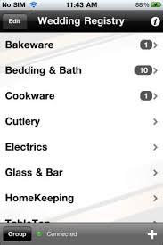 wedding registry app wedding registry free iphone app app decide