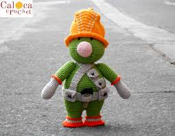 fraggle rock wedding band pattern doozer fraggle rock amigurumi by caloca crochet