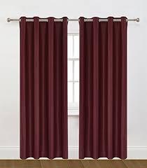 Premium Curtains Ponydanceusa Premium 2 Panels Energy Saving And Noise Reducing