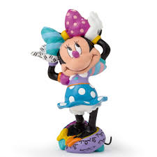 disney figurines by romero britto minnie mouse mini figurine