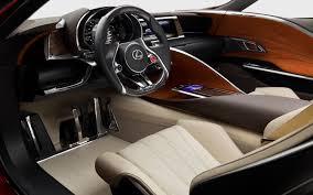 lexus interior sketch car picker lexus lflc interior images