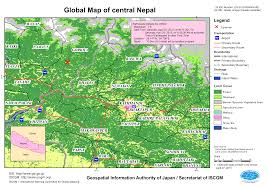 Maps Nepal by Disaster Caused By The Earthquake In Central Nepal April 2015