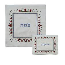 passover matzah cover passover set of matzah cover afikomen bag with colorful passover