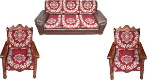 Sofa Covers Online In Bangalore Pindia Fabric 3 1 1 For 5 Seater Maroon Sofa Cover For Sofa