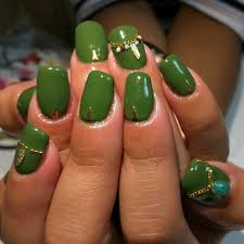 Migi Nail Art Design Ideas The Adorned Claw Nail Art Handtastic Intentions Nail Art Green