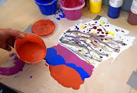 making u201cskins u201d with fluid acrylics just paint