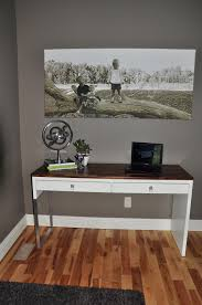Timber And Lace Office Diy Inspiration Pinterest Ikea Desk