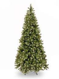 7ft pre lit bayberry spruce slim feel real artificial tree