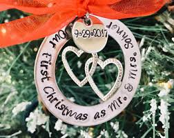 personalized christmas ornaments wedding ornaments