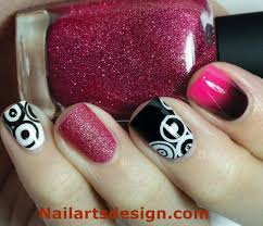 black nail art and black nail designs latest black nails