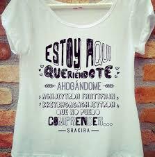 Famosos Camiseta Shakira | pf | Pinterest @ZI23