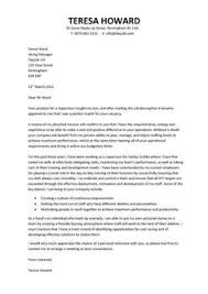 a concise and focused cover letter that can be attached to any cv