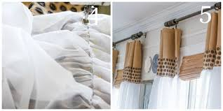 Curtains And Sheers How To Update Sheer Curtains An Easy Diy Stonegable