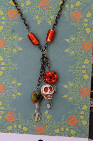 221 best halloween day of the dead jewelry images on pinterest