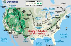 us desert map us rivers enchantedlearningcom outline map us rivers labeled