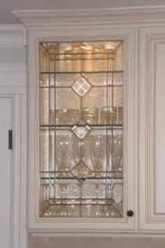 Beveled Glass Inserts For My Kitchen Cabinets Done By SGO - Leaded glass kitchen cabinets