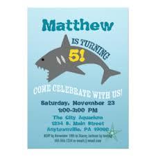 aquarium birthday party invitations u0026 announcements zazzle