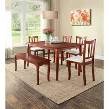 Orange Dining Room Sets Better Homes And Gardens Ashwood Road Dining Table Brown Cherry