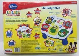 Mickey Mouse Activity Table La Casa De Mickey Mouse Activity Table Original Ditoys 995 00
