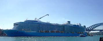 ovation of the seas sneaky visit to brisbane and sydney launch