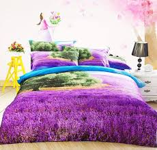 Duvet Cover Purple 2015 Beautiful Piece Of Purple Lavender And Green Tree Print Duvet