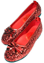 child dorothy wizard oz costume kids ruby slippers red shoes
