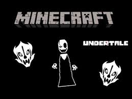 gaster the who speaks in become gaster in minecraft beware of the who speaks in