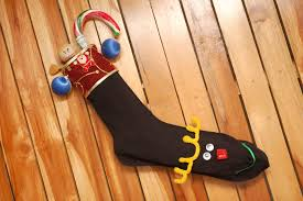 Stocking How To Make A Christmas Stocking Out Of A Sock 10 Steps