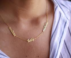 sterling silver name necklaces tiny silver name necklace gold name necklace name