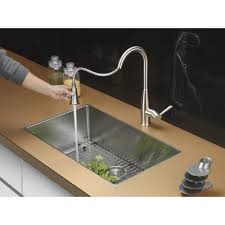 ruvati rvf1228k1ch pullout spray kitchen faucet with soap