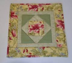 quilted square table toppers floral quilted table topper in gold and green quilted table runner