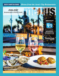 Virginia Beach World Easy Guides by Virginia Beach Restaurant U0026 Menu Guide 2016 2017 By Vistagraphics