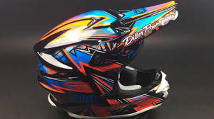 shoei helmets motocross shoei helm mx motocross enduro quad vfx w maelstrom tc 1 youtube