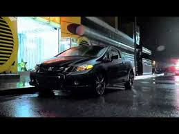 on honda civic commercial honda civic si commercial 2011