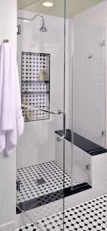white tiled bathroom ideas black and white tile bathroom paints shower what color walls floor