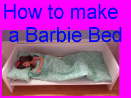 barbie how to make a bed youtube