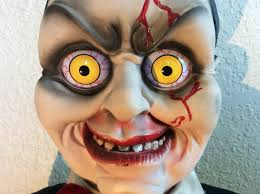 deady teddy spirit halloween chuckie the interactive dummy unboxing and review r i p reviews