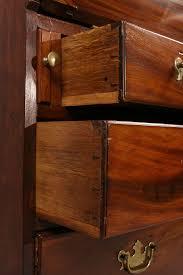 Chippendale Secretary Desk by Lot 303 English Chippendale Style Mahogany Secretary