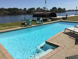 awesome waterfront home on lake conroe w pool walden golf fish off