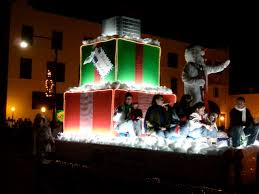 christmas light parade floats 1st prize float holiday parade news deland fl