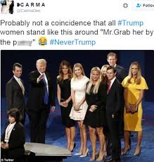 Tight Pussy Meme - melania and ivanka trump show their support for donald trump at