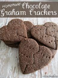 chocolate graham crackers elisebakes
