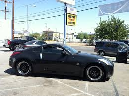 nissan coupe 350z nissan 350z rent a wheel rent a tire