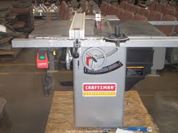 10 Craftsman Table Saw North State Auctions Auction New Site Auction Launch Featuring