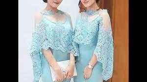 model baju model baju kebaya modern indonesia 2017
